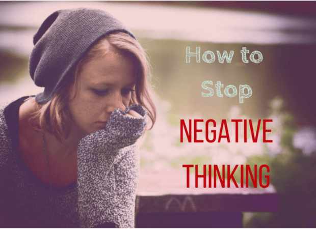 how to avoid negative thinking
