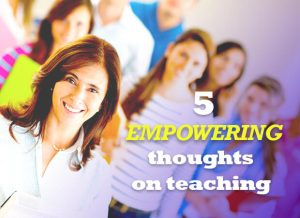 Thoughts on Teaching