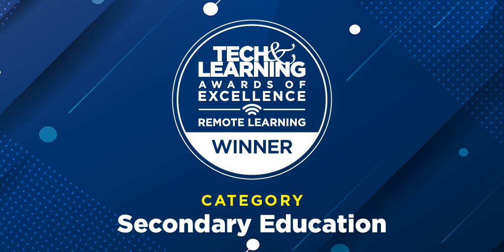Tech and Learning Award Winner